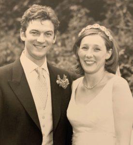 Tom Chambré (Grafton 95) & Sophia Chambré (née Calvert, Lyttelton 95)