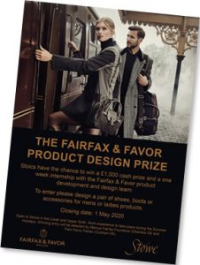 Work Experience At Fairfax & Favor
