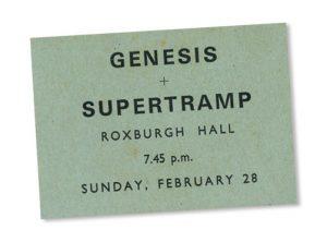Memories of Supertramp & Genesis at Stowe